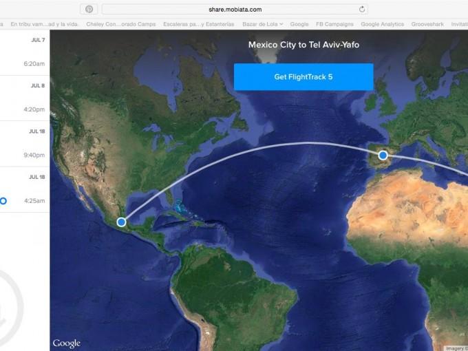 Esta app te ayudará a no perder tus vuelos