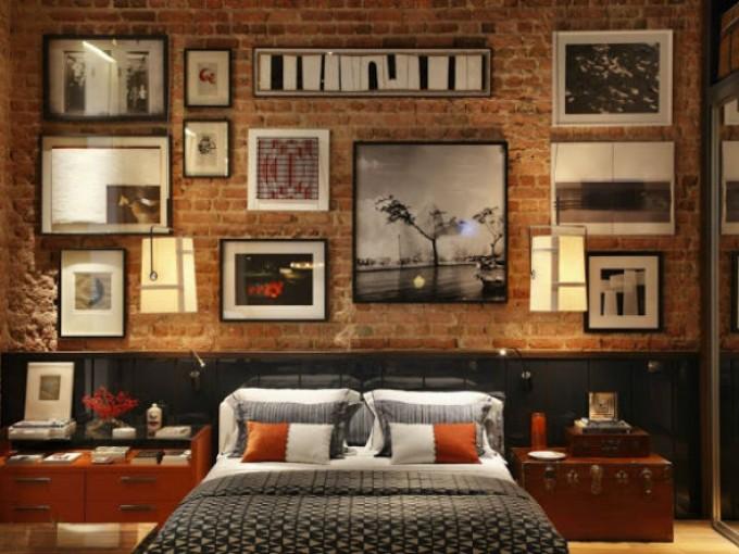 Decorar una pared con fotos me lo dijo lola - Decorar paredes con fotografias ...