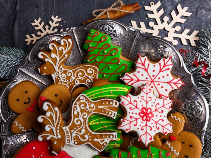Las galletas de jengibre son tradicionales en Navidad Foto: iStock
