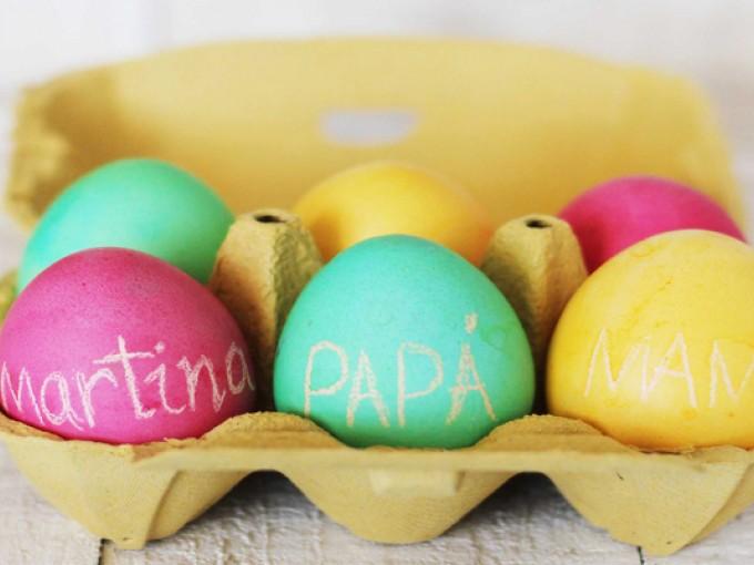 Huevos pascua