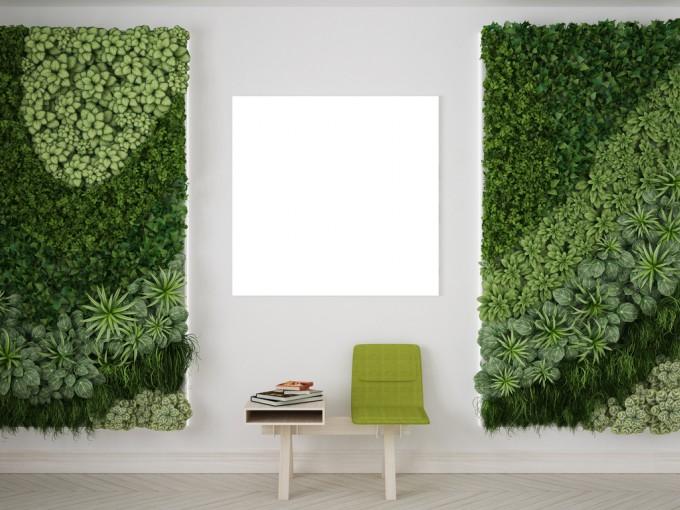 Crea tu propio jardín vertical con la ayuda de Pinterest Foto: iStock