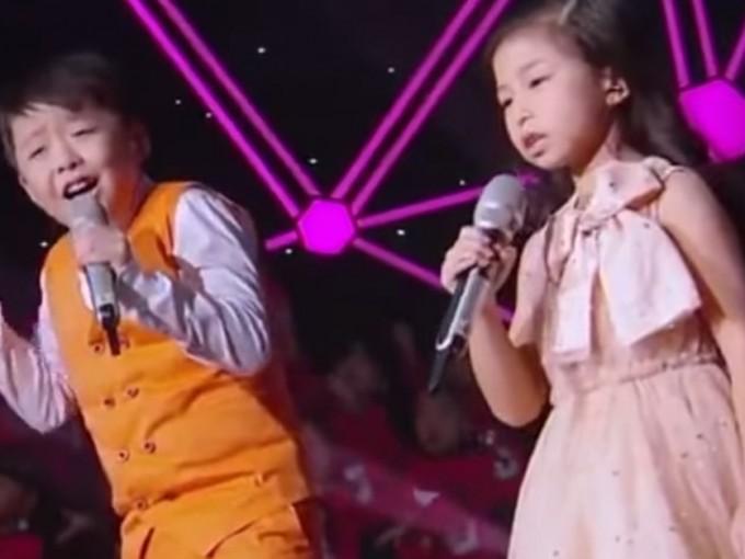 Jeffrey Li y Celine Tam, niños adorables y con hermosas voces