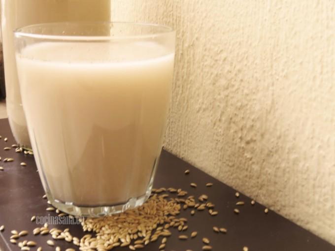 Baja de peso con leche de alpiste