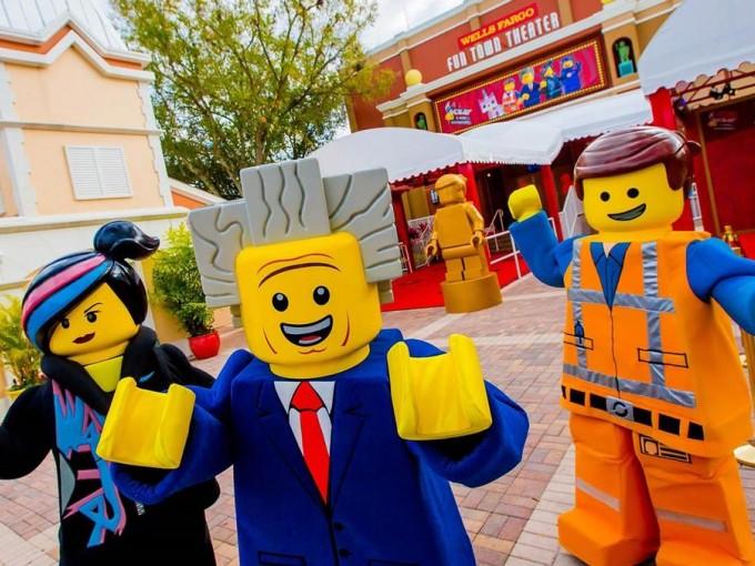 No pueden faltar los personajes Lego
