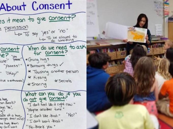 Así debemos enseñar y entender el consentimiento Foto: Instagram