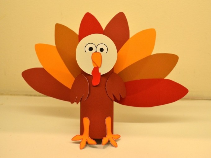 El pavo agradecido es una divertida actividad para hacer con tus hijos