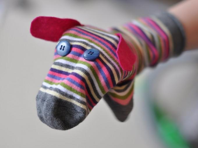 Marionetas con calcetines