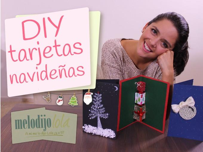 Tarjetas originales y creativas para navidad me lo dijo lola - Targetas de navidad originales ...