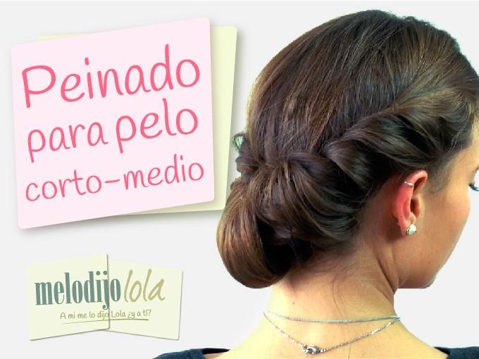Un Peinado Increible Para Pelo Corto Me Lo Dijo Lola
