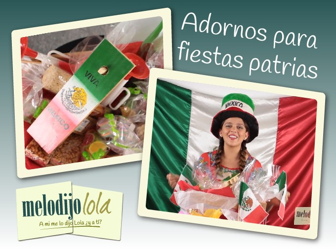 Decoracion Septiembre Mexico ~ decoraci?n para el 15 de septiembre  Me lo dijo Lola