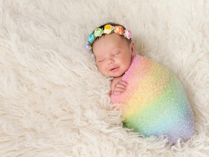 Pero cuando llega nuestro bebé arcoíris sabemos de inmediato que todo valió la pena.