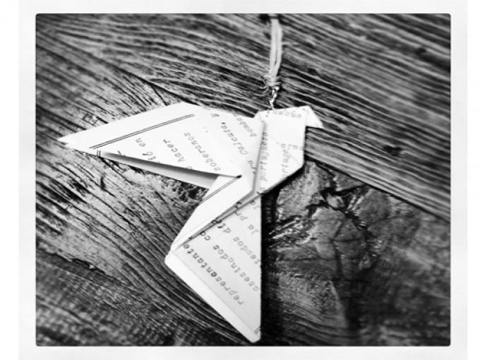 Decora tu árbol de navidad con esferas de Origami