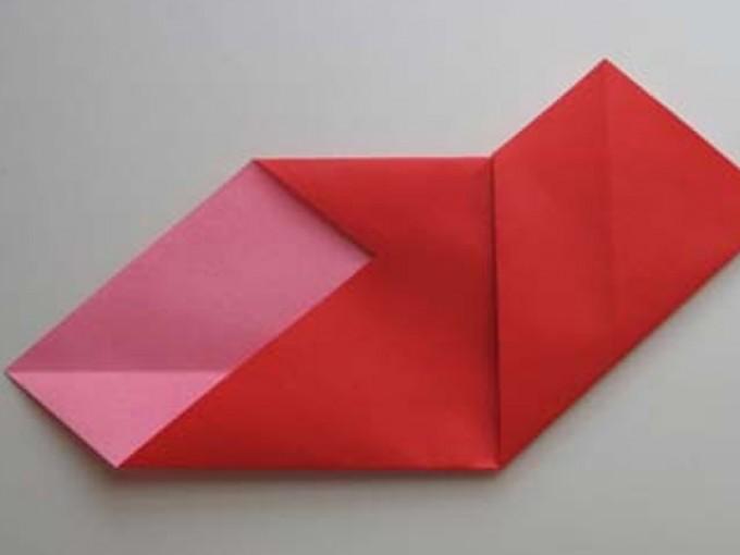 como hacer origami en forma de corazón |Me lo dijo Lola