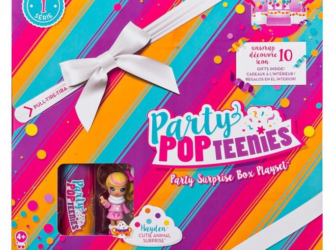 Fiestas increíbles con las nuevas Party Popteenies