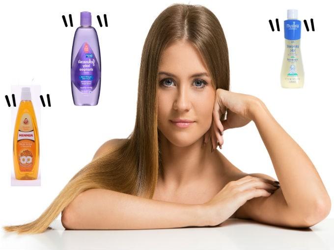 Resultado de imagen para shampoo de bebe para el cuidado