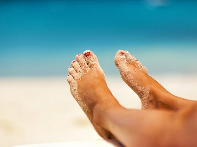 Elimina el mal olor de los pies