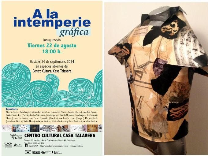 Exposición de armaduras en el Centro Cultural Casa Talavera