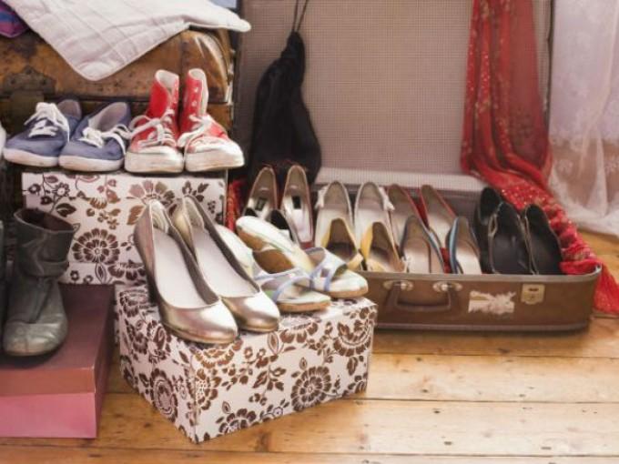 Ordenar los zapatos