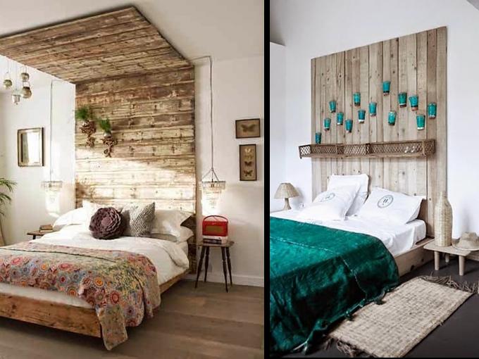 Ideas de cabeceras originales para tu casa me lo dijo lola for Como decorar una habitacion sencilla y economica