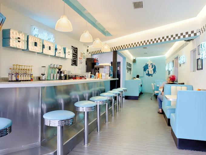 Lugares que te transportan al pasado me lo dijo lola - Cocinas retro anos 50 ...