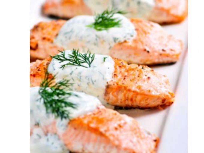 Receta de salmon
