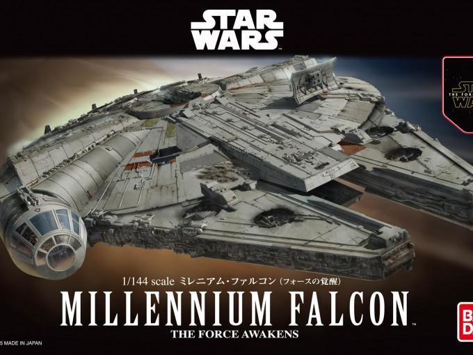 Halcón Milenario Foto: Bandai Hobby Star Wars