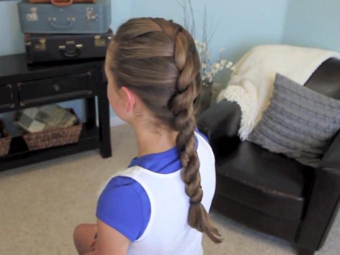 5 ideas de peinados con trenzas para niñas