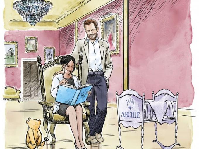 El bebé Archie recibió una animación de Disney como regalo