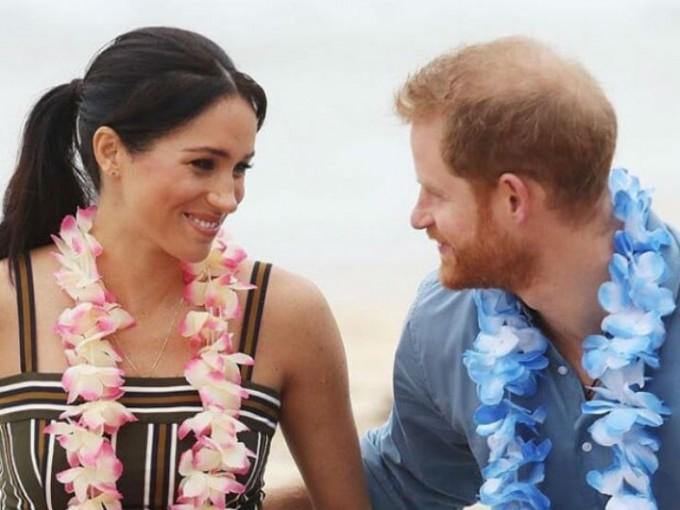 El Príncipe Harry le tomó una foto que muestra a Meghan Markle con todo el brillo del embarazo