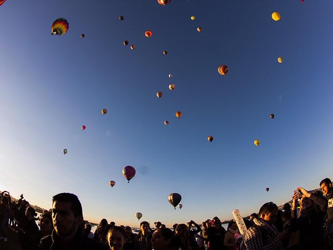 Cada año miles de personas celebran el Festival Internacional del Globo en León, Guanajuato, el cual en 2017 cumple 16 años. Foto: Archivo Cuartoscuro