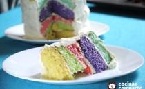 ¡Aprende a hacer un Pastel de colores!