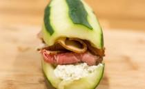 ¡Sandwich sin pan ideal para el verano!