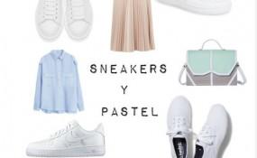 Sneakers + pastel