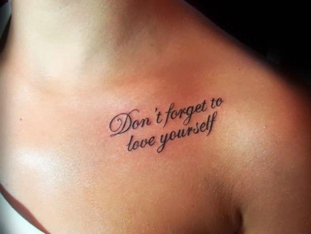 Los 10 Frases Mas Inspiradoras Para Tatuarse Y Su Significado Me - Frases-positivas-para-tatuajes