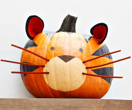 5 formas divertdas de decorar calabazas me lo djo lola for Decorar calabazas secas