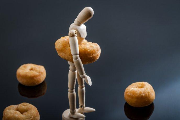 Tristeza cuando estás a dieta