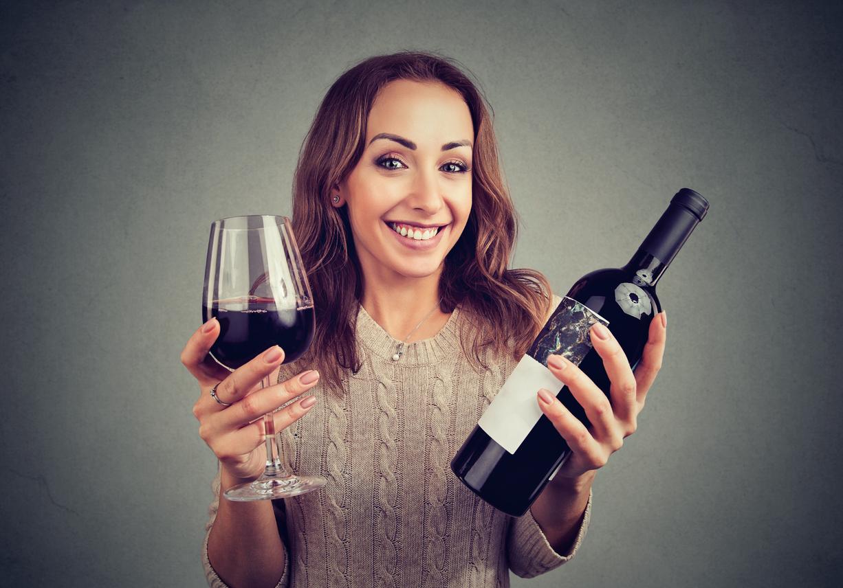 Compras vino caro